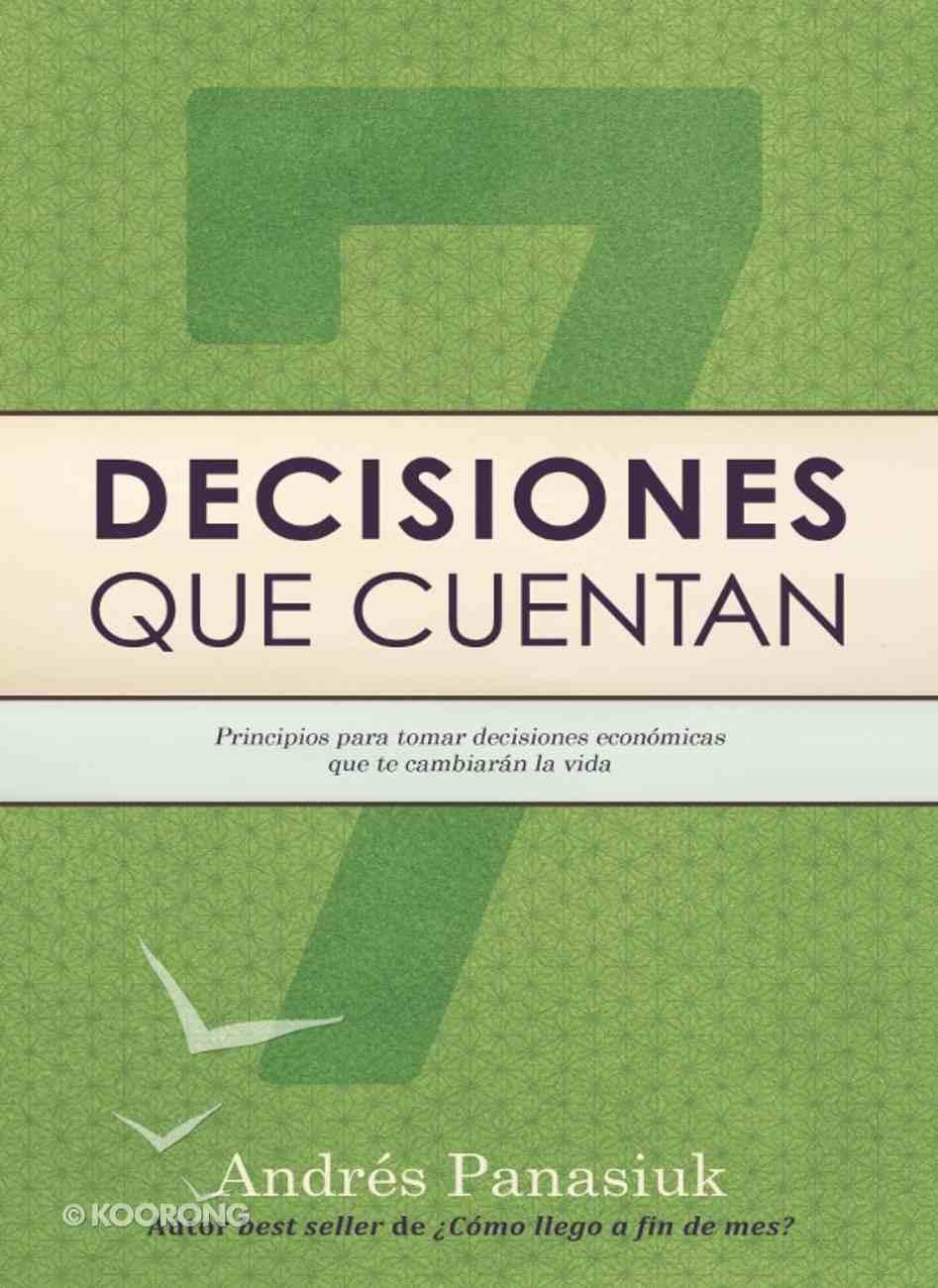 Decisiones Que Cuentan eBook