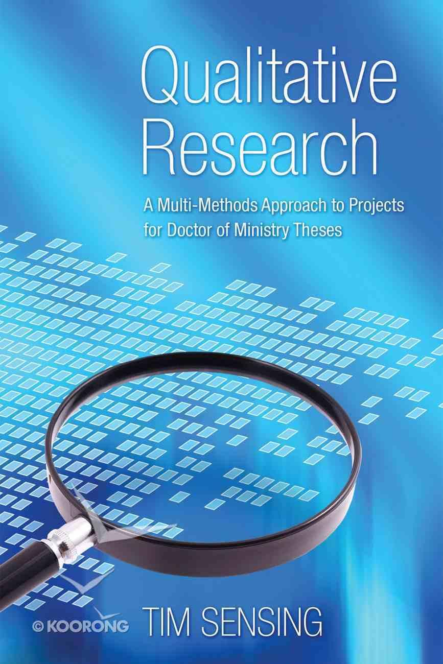Qualitative Research Paperback