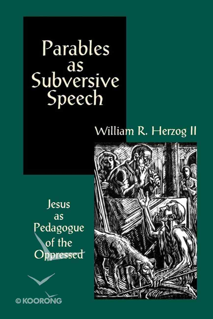 Parables as Subversive Speech eBook