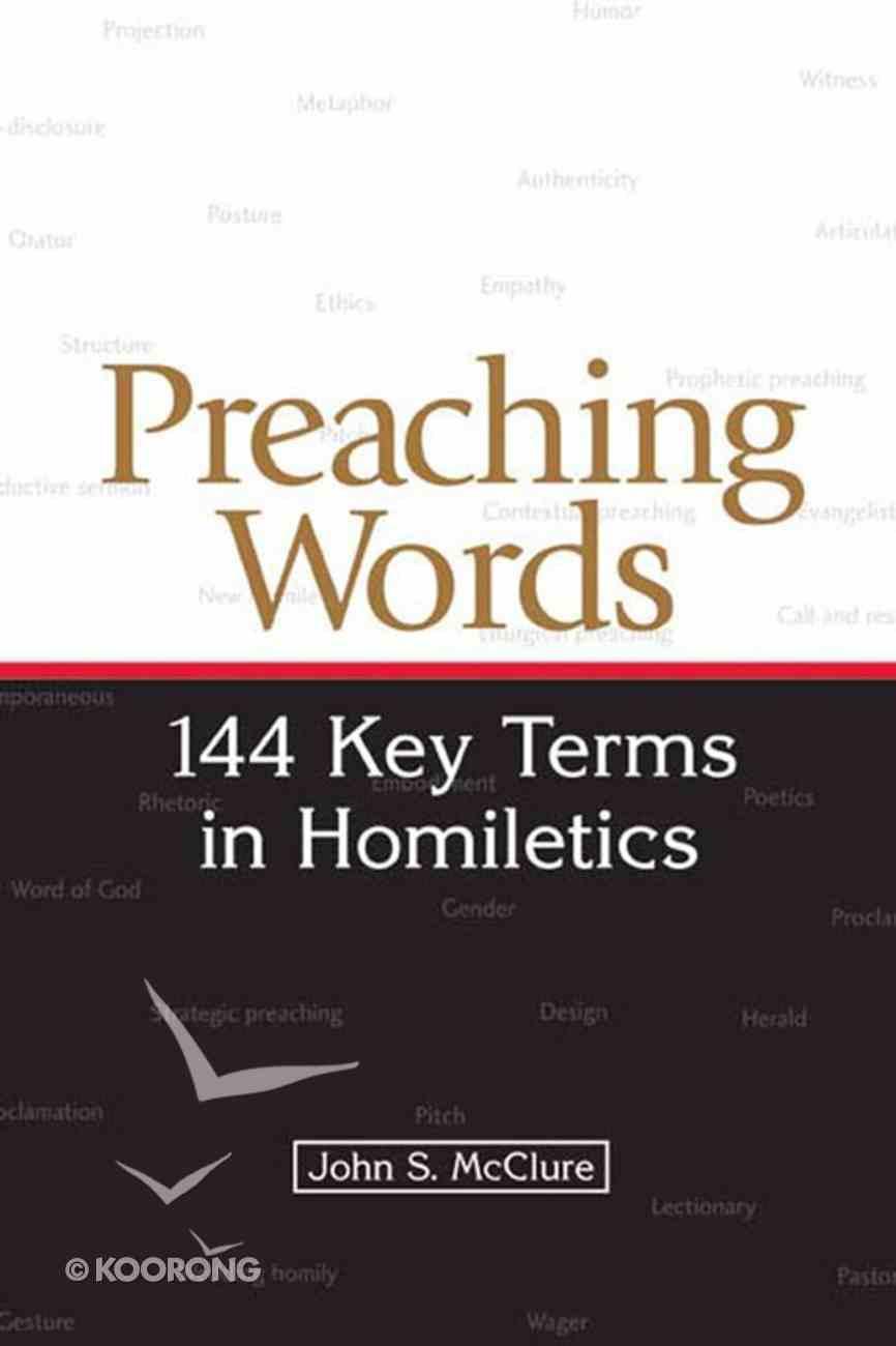 Preaching Words eBook