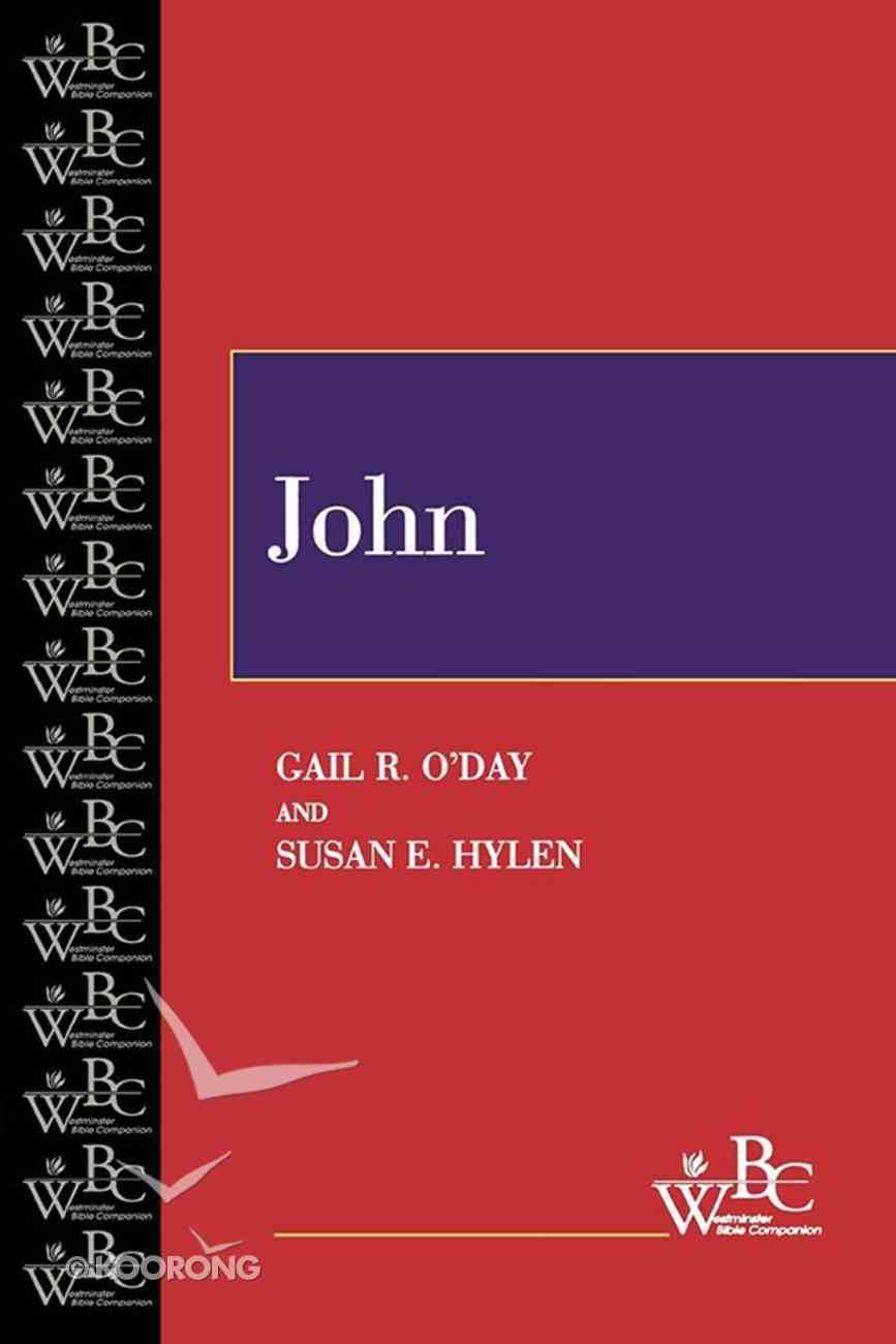 John (Westminster Bible Companion Series) eBook