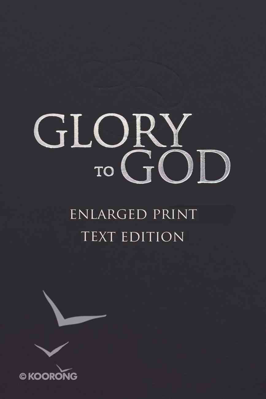 Glory to God: Words Only eBook