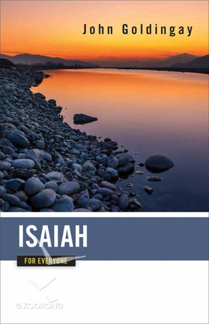 Isaiah For Everyone (Old Testament Guide For Everyone Series) eBook