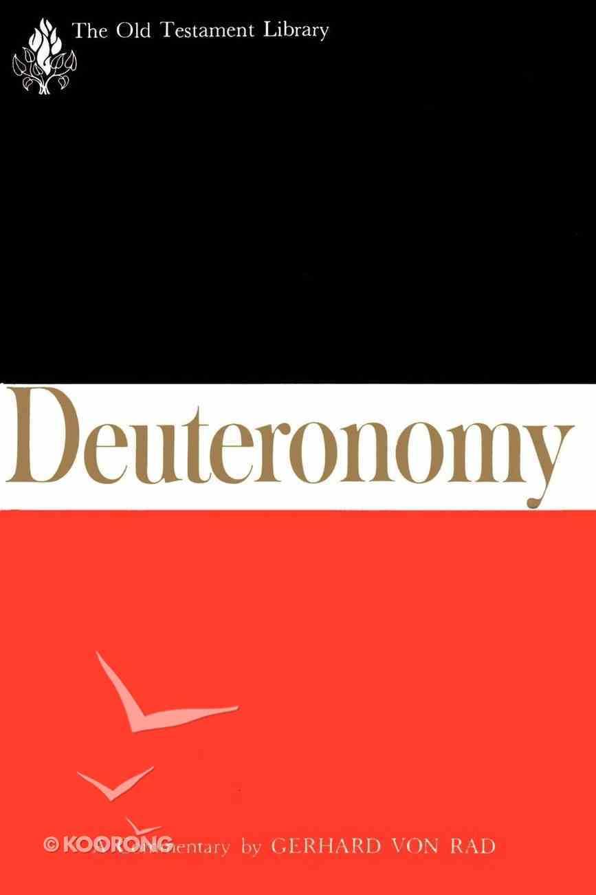 Deuteronomy (Old Testament Library Series) eBook