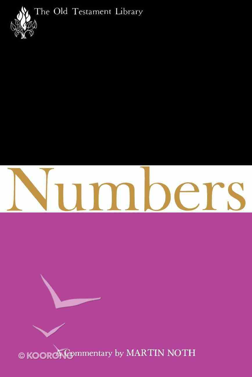 Numbers (Old Testament Library Series) eBook