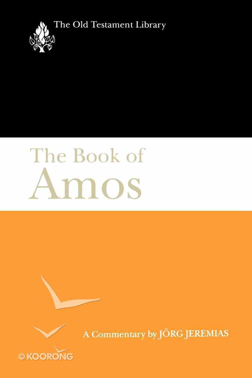 The Book of Amos (Old Testament Library Series) eBook