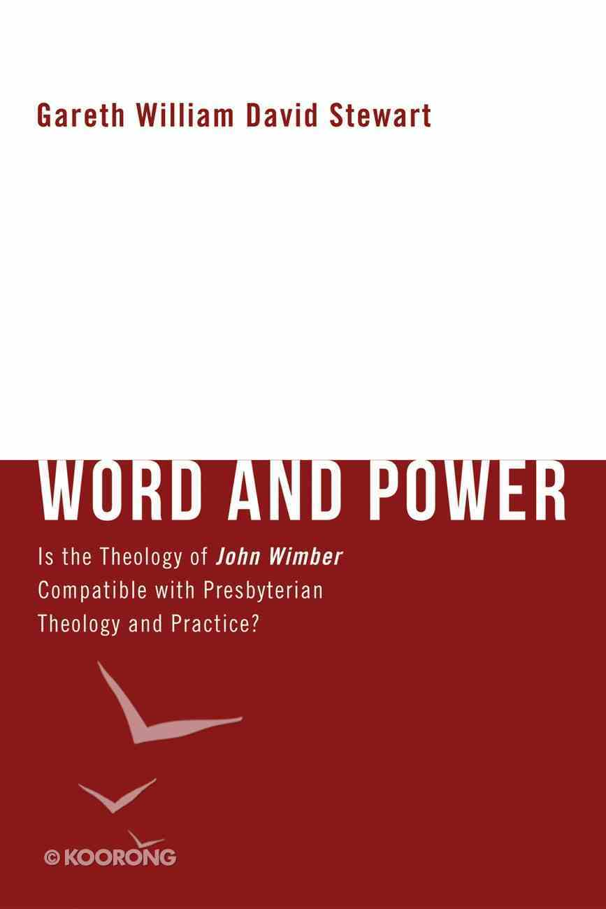 Word and Power Paperback