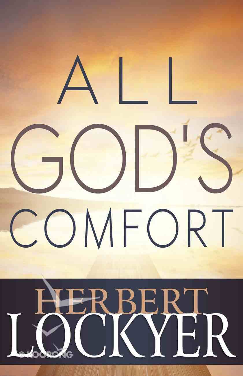 All Gods Comfort Paperback