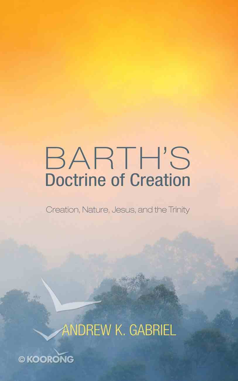Barth's Doctrine of Creation eBook