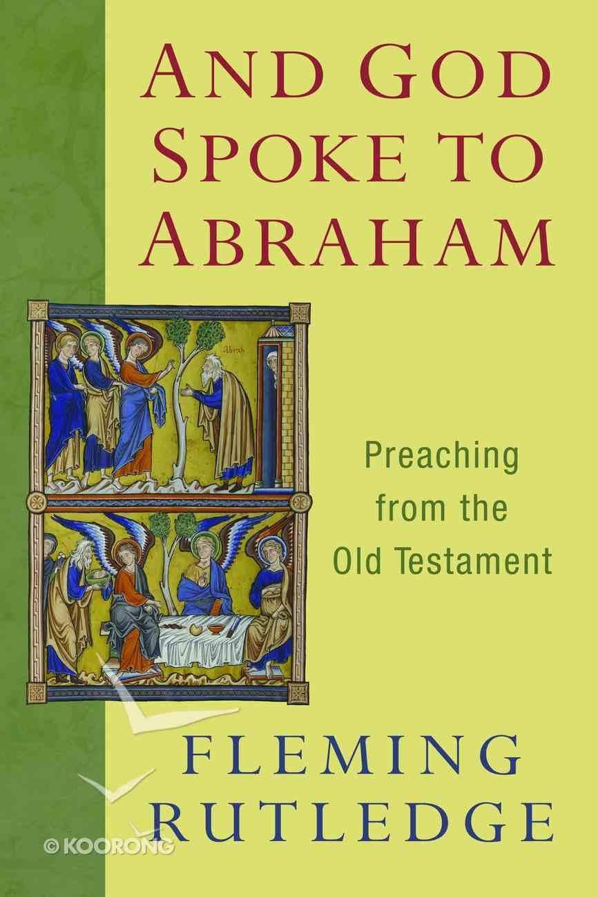 And God Spoke to Abraham Paperback