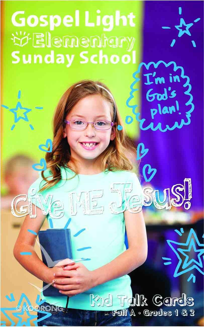 Gllw Falla 2020 Grades 1 & 2 Kid Talk Cards (For 5 Kids) (Gospel Light Living Word Series) Paperback