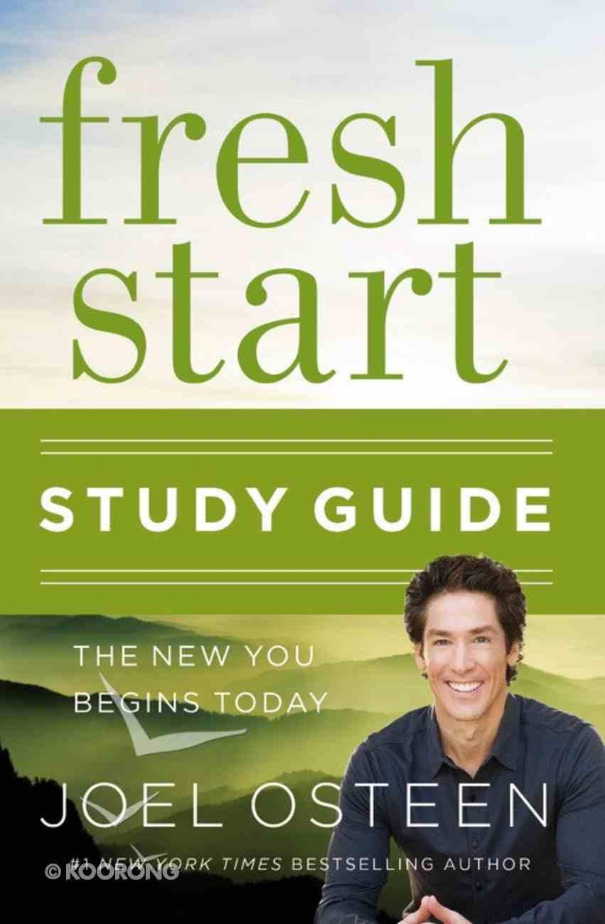 Fresh Start (Study Guide) Paperback