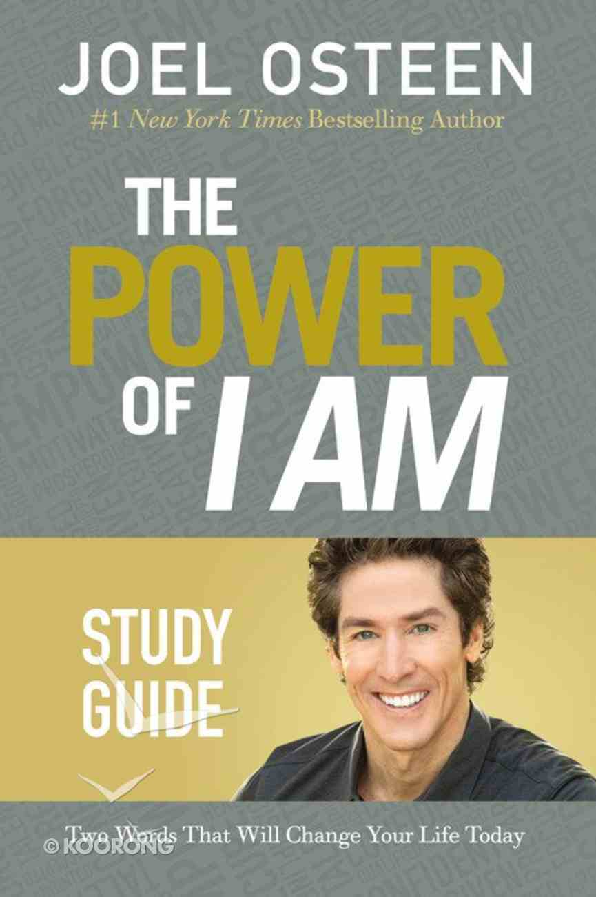 The Power of I Am (Study Guide) Paperback