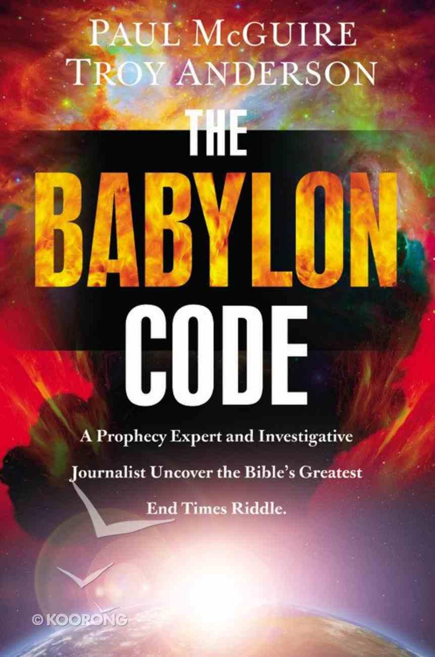 The Babylon Code Hardback