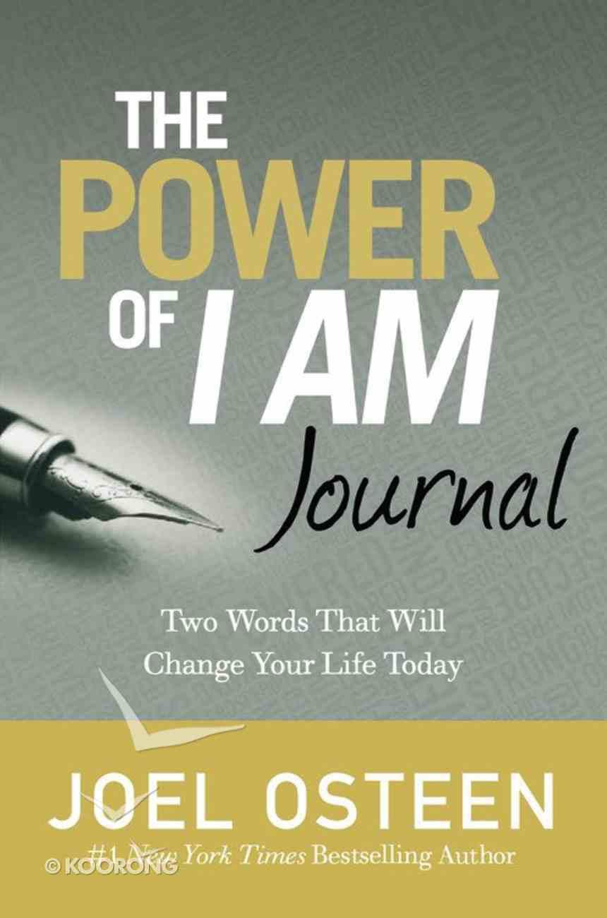 Journal: The Power of I Am Hardback