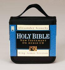 Album Image for KJV Scourby New Testament on Audio CD - DISC 1