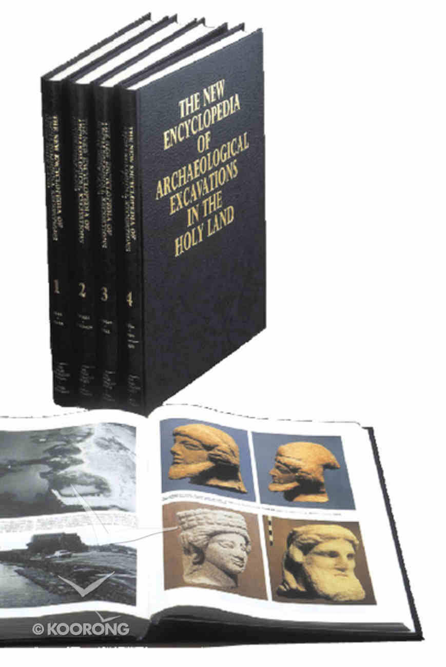New Encyclopaedia of Archaeological Excavations of the Holy Land (Vol 1-4) Hardback