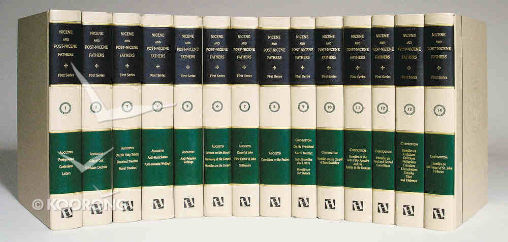 Nicene/Post-Nicene Fathers Series 1 (14 Volumes Set) (Nicene/post Nicene Fathers Series 1) Hardback