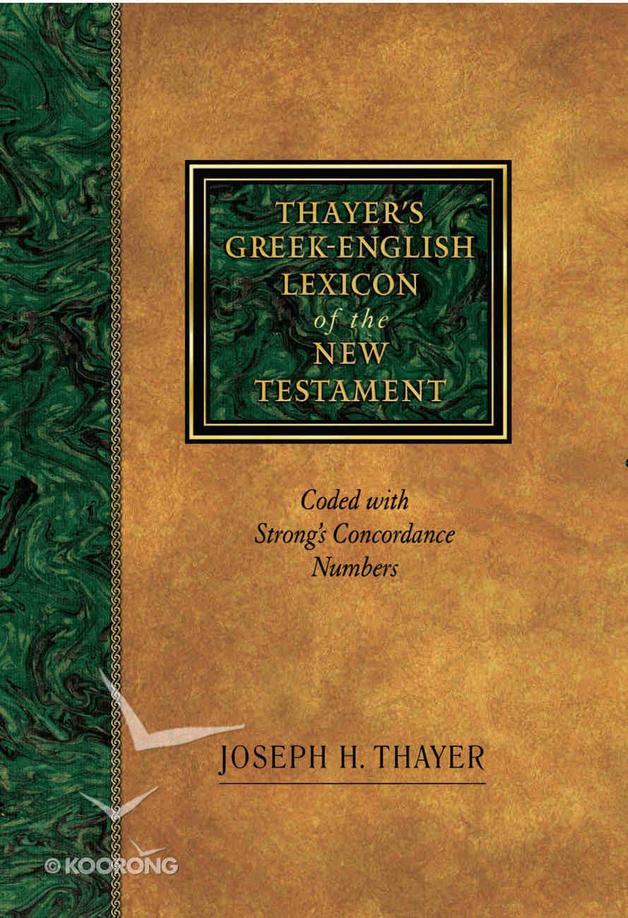 Thayer's Greek English Lexicon Hardback