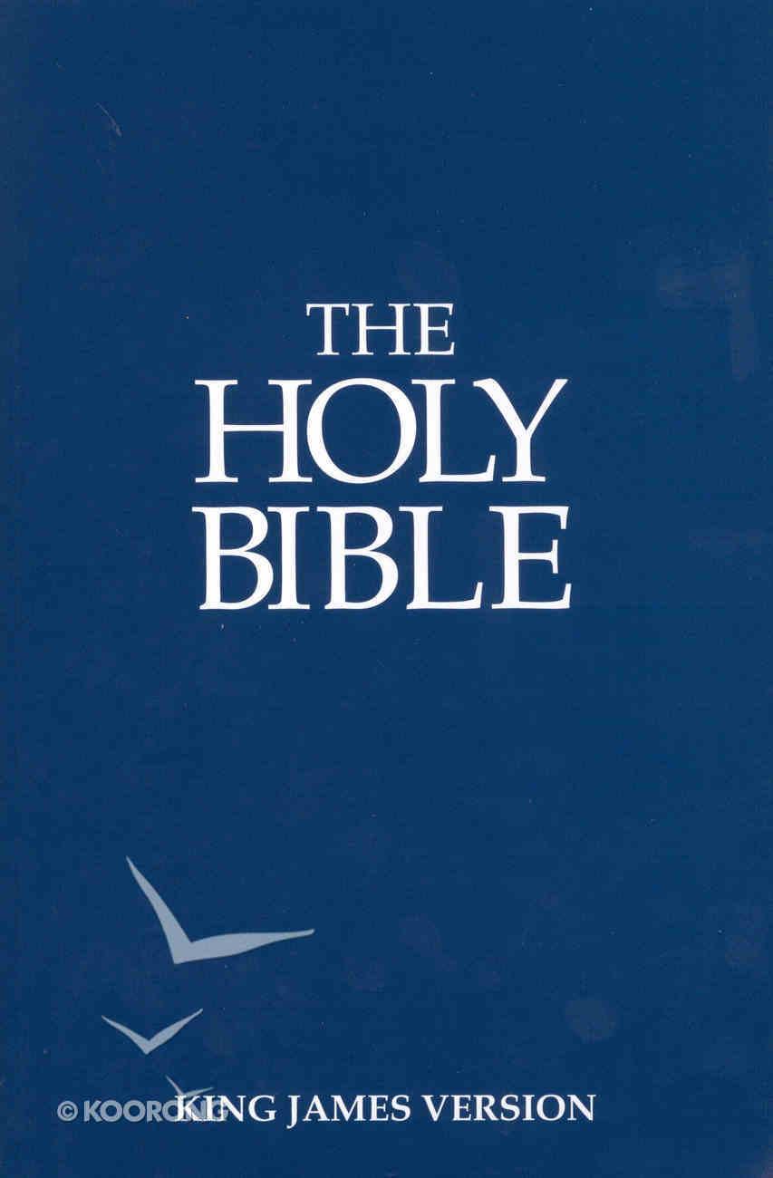 KJV Holy Bible Blue (Black Letter Edition) Paperback
