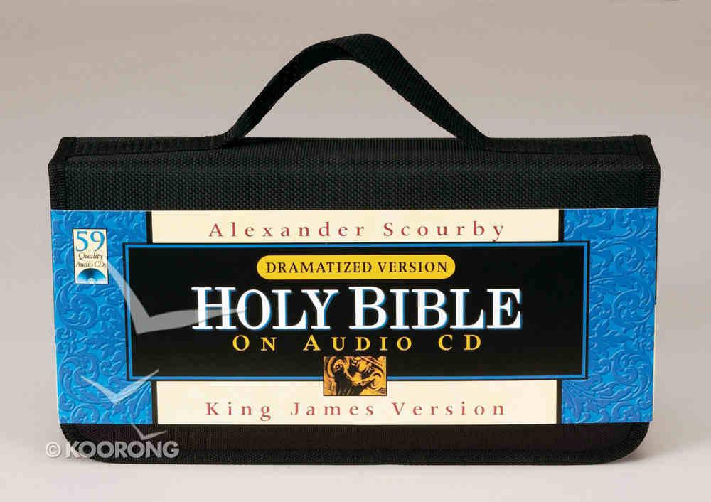 KJV Scourby Dramatized Bible on Audio CD Voice Only CD