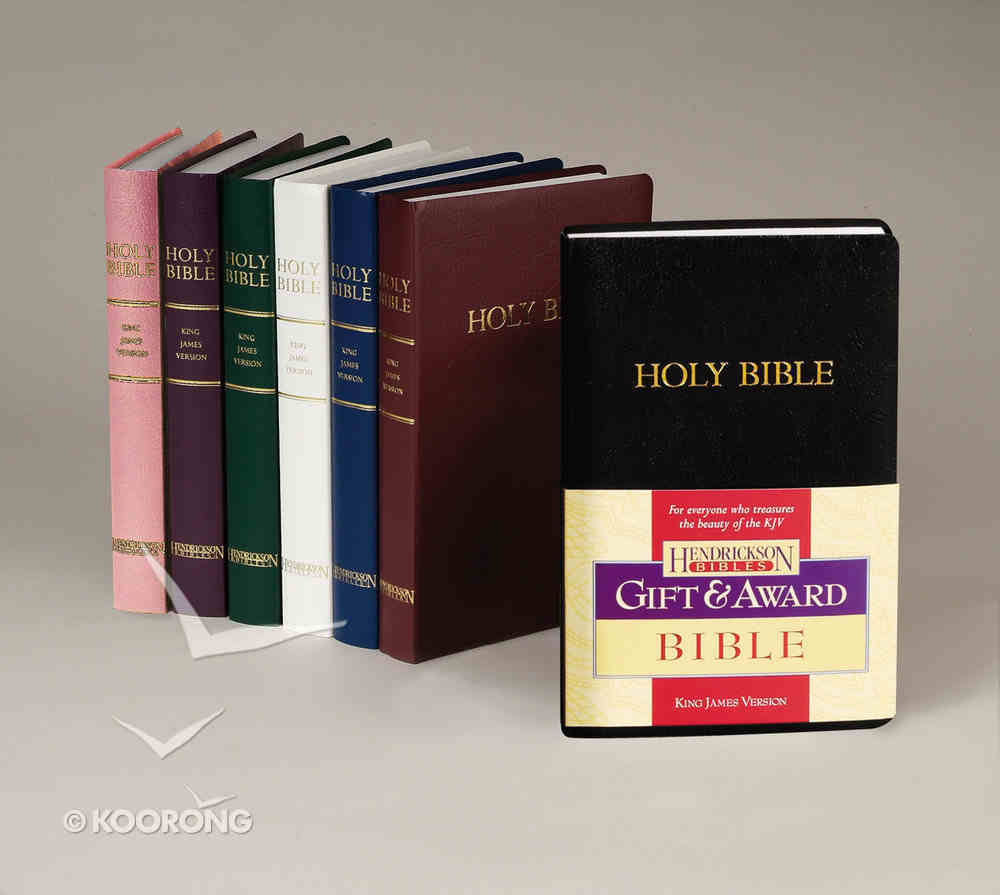 KJV Gift and Award Bible Dark Green (Red Letter Edition) Imitation Leather