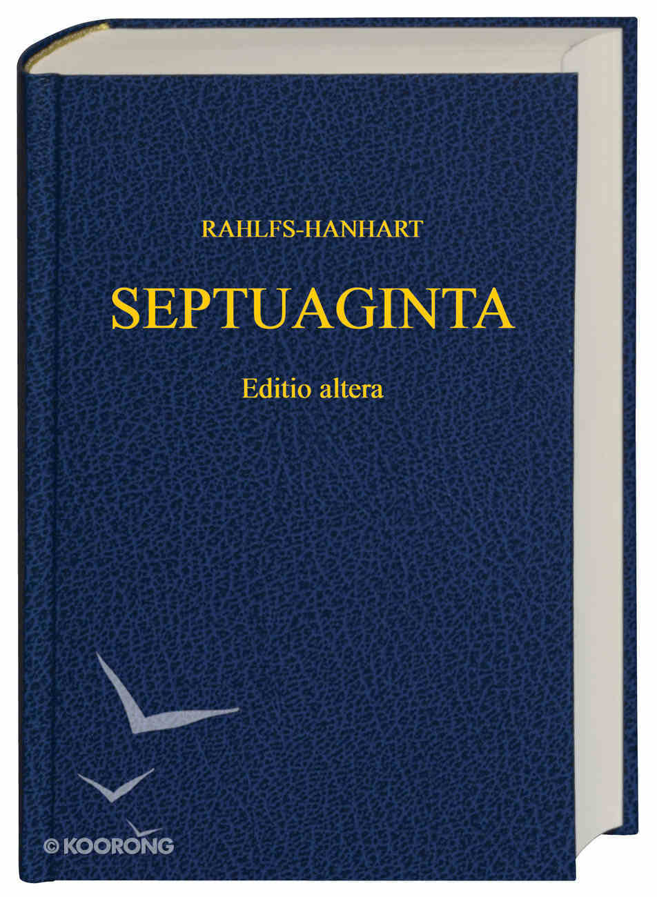 Rahlfs-Hanhart Septuaginta (2006) Hardback