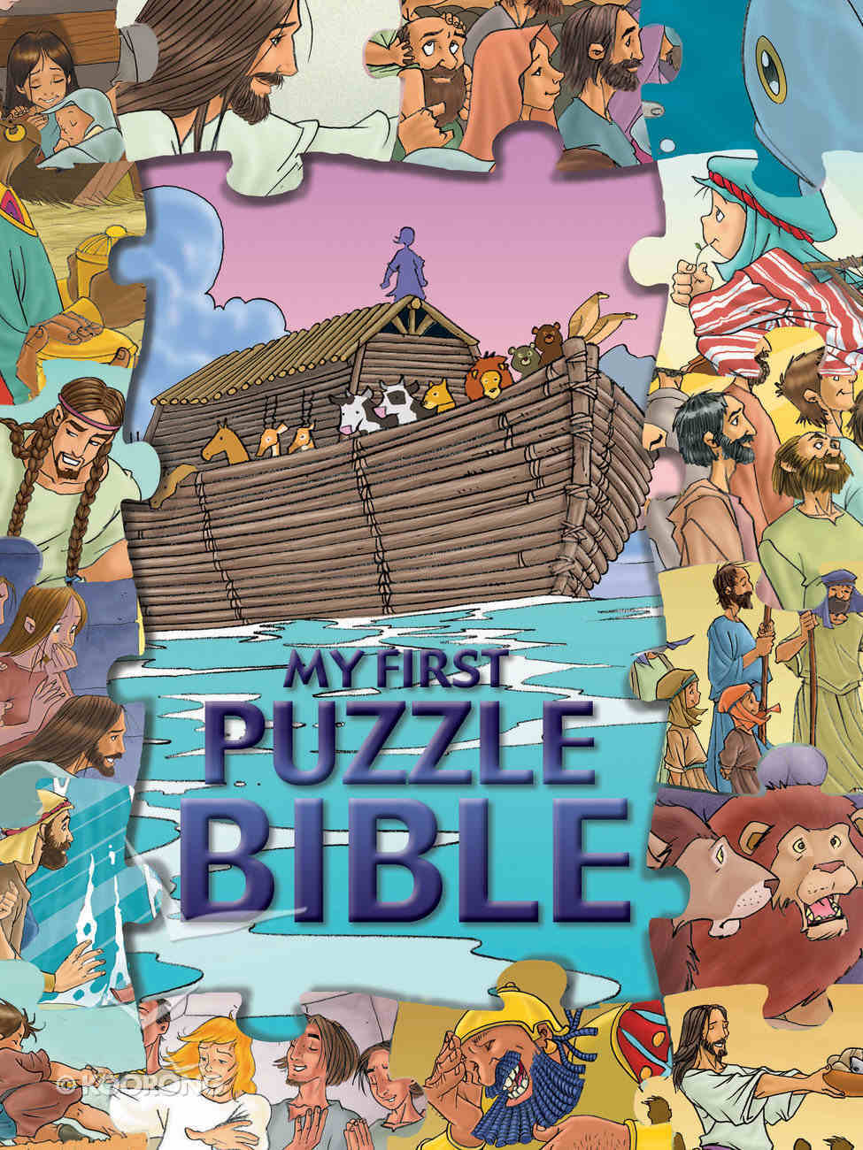 My First Puzzle Bible Board Book