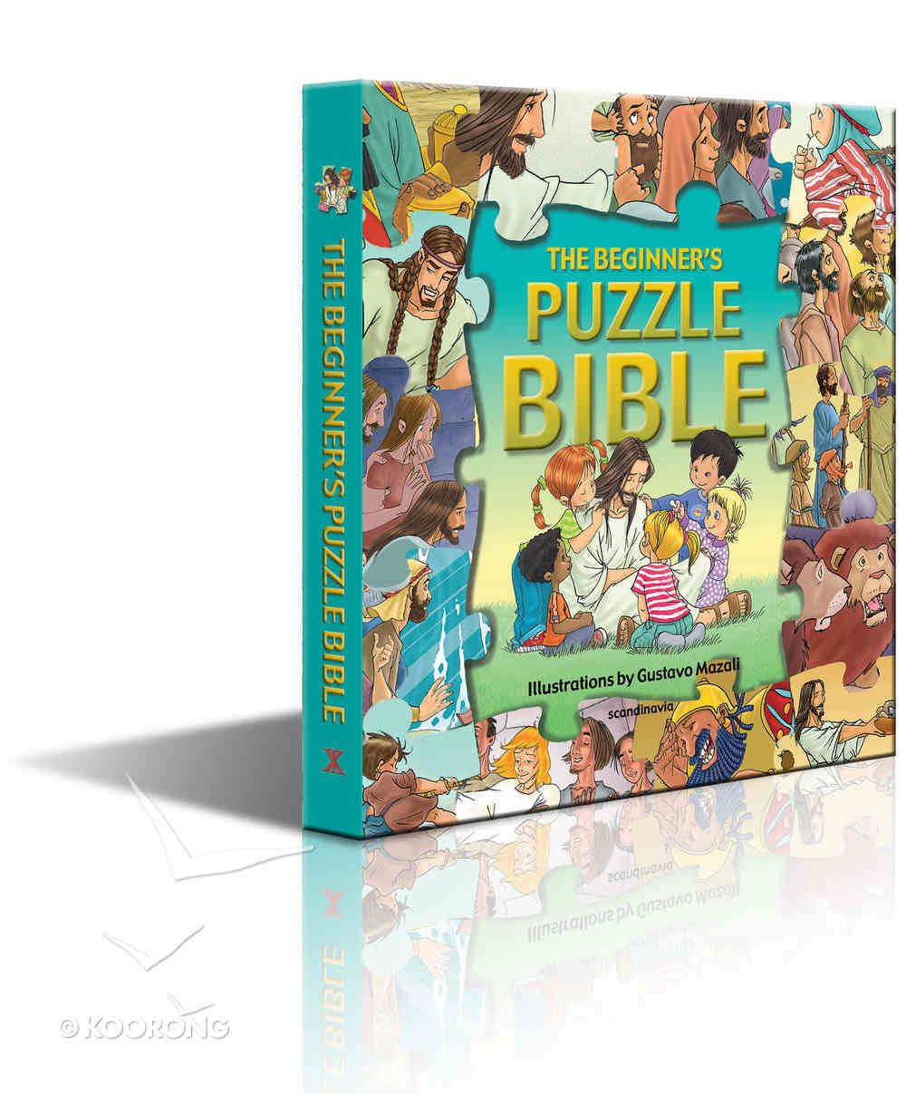The Beginner's Puzzle Bible Board Book