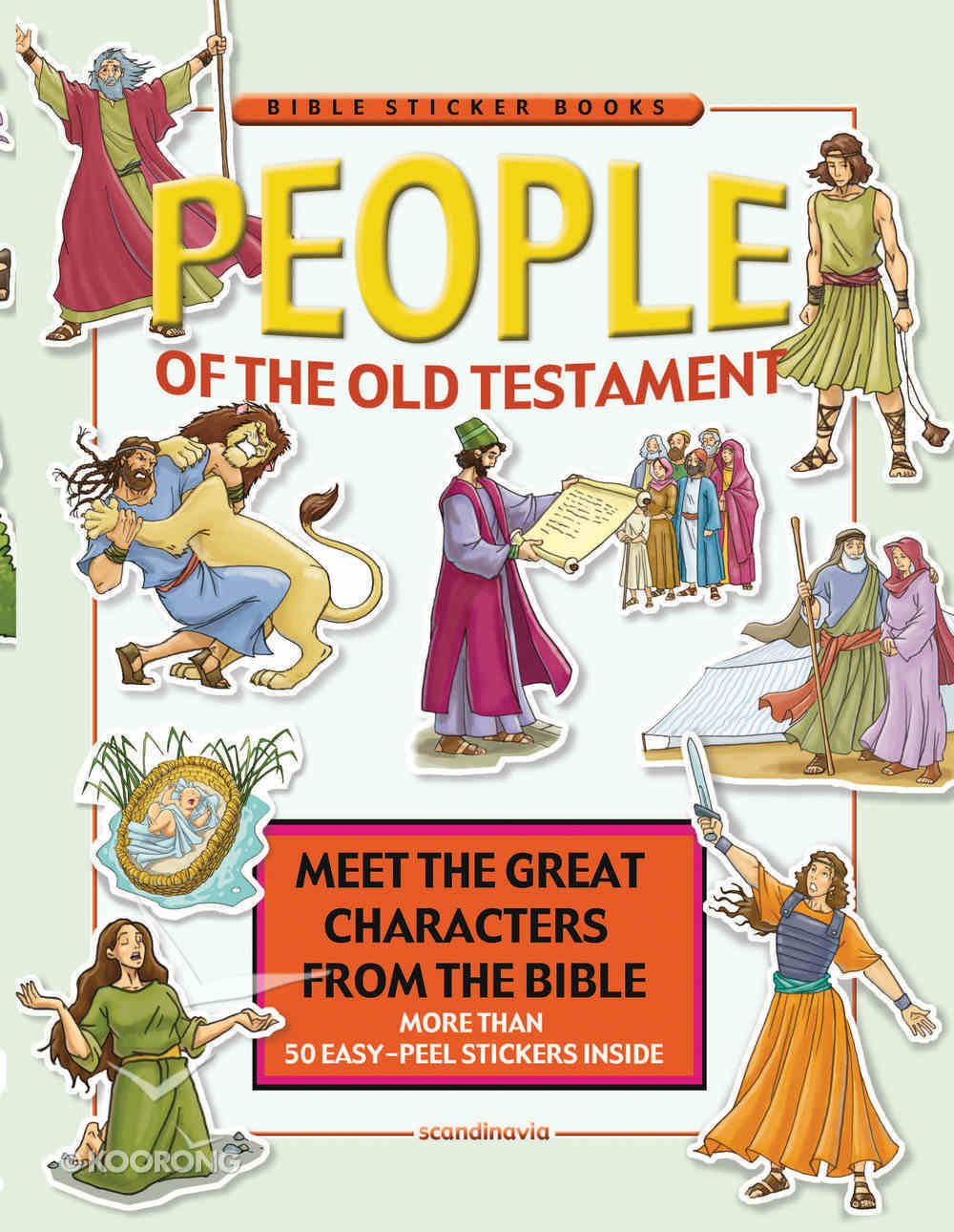 People of the Old Testament (Bible Sticker Book Series) Paperback