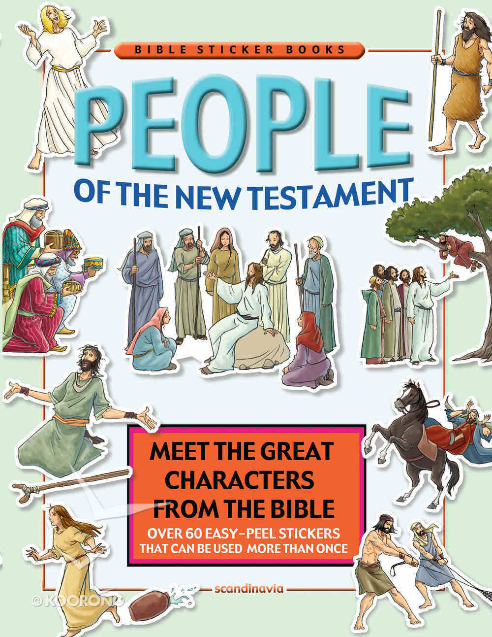 People of the New Testament (Bible Sticker Book Series) Paperback