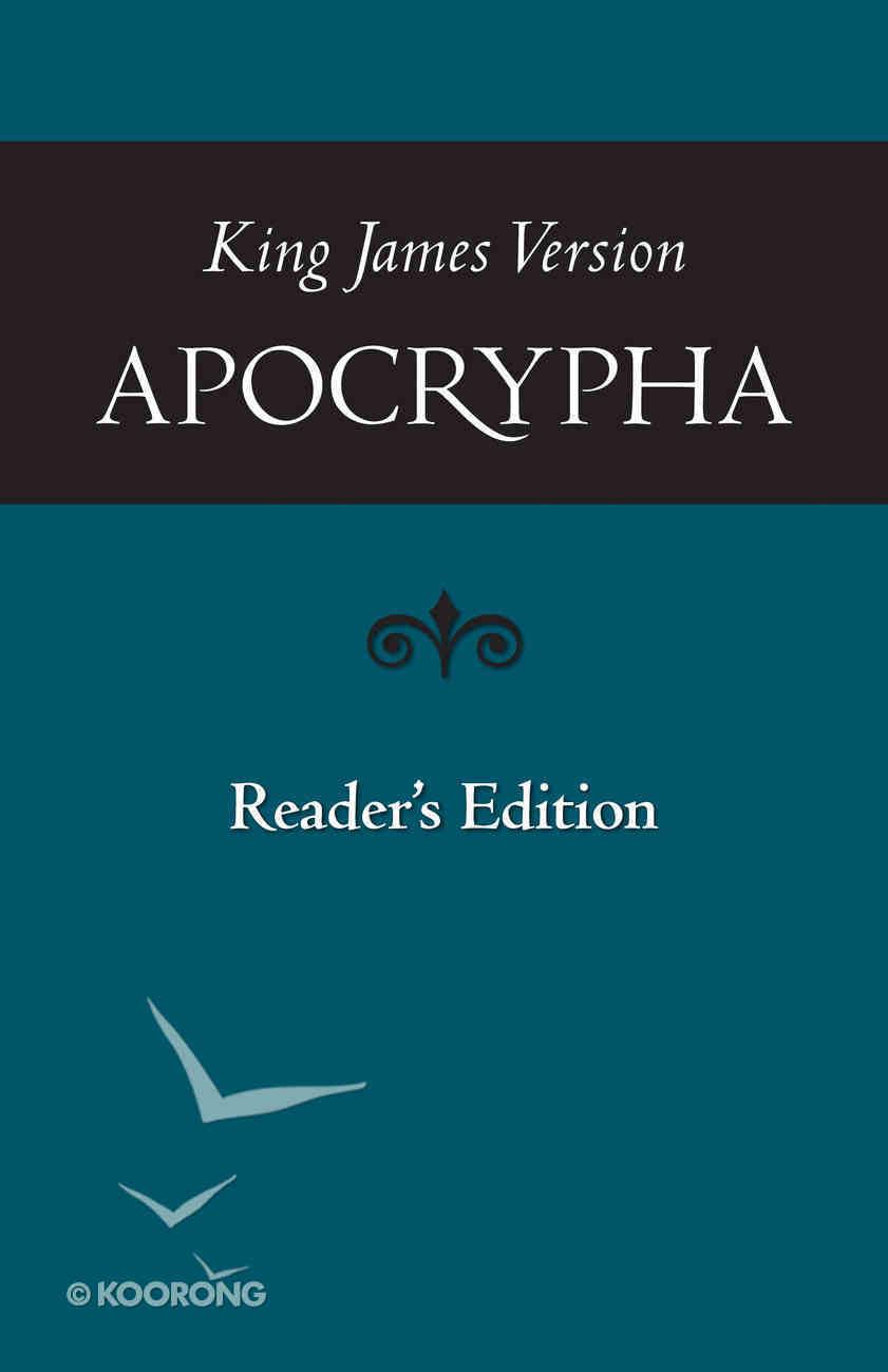 KJV Apocrypha (Reader's Edition) Paperback