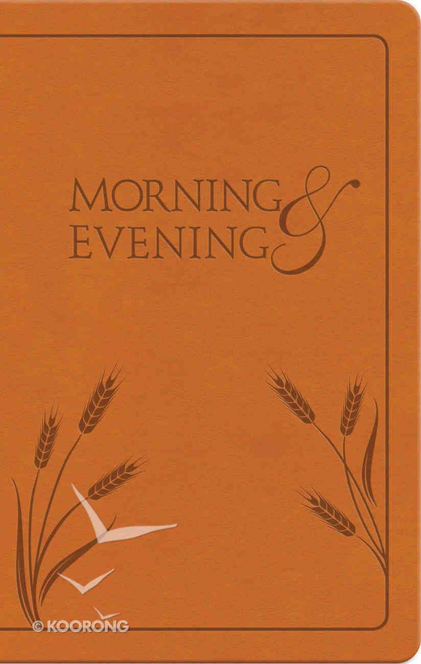 Morning & Evening: NIV Edition (Honey) Imitation Leather