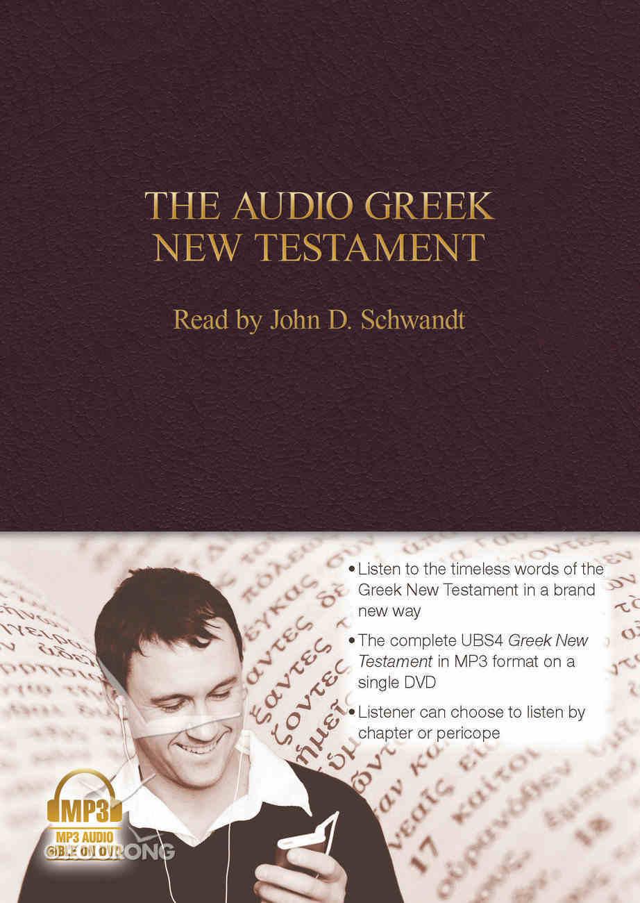 Greek New Testament Ubs4 Audio New Testament CD