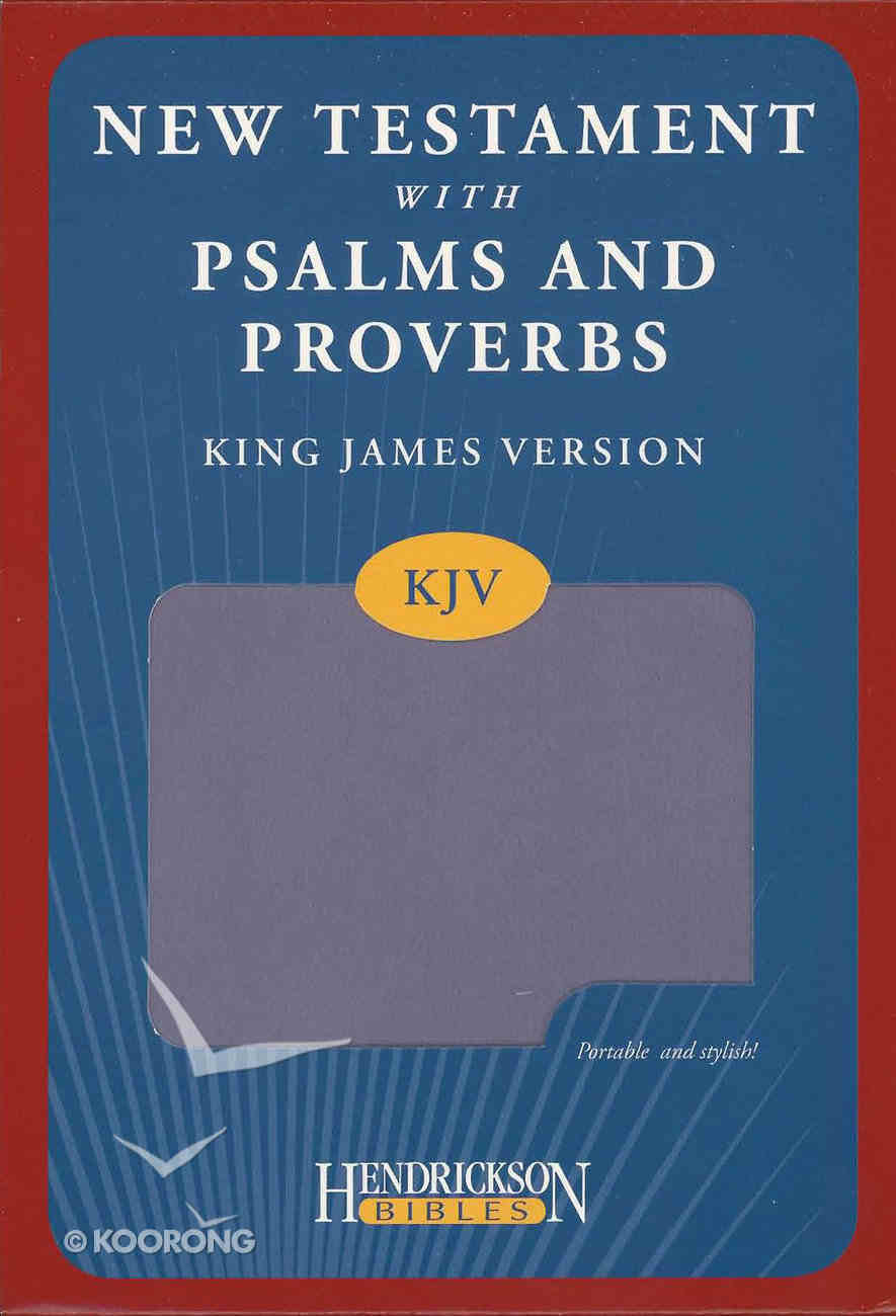 KJV New Testament With Psalms and Proverbs Lilac Imitation Leather
