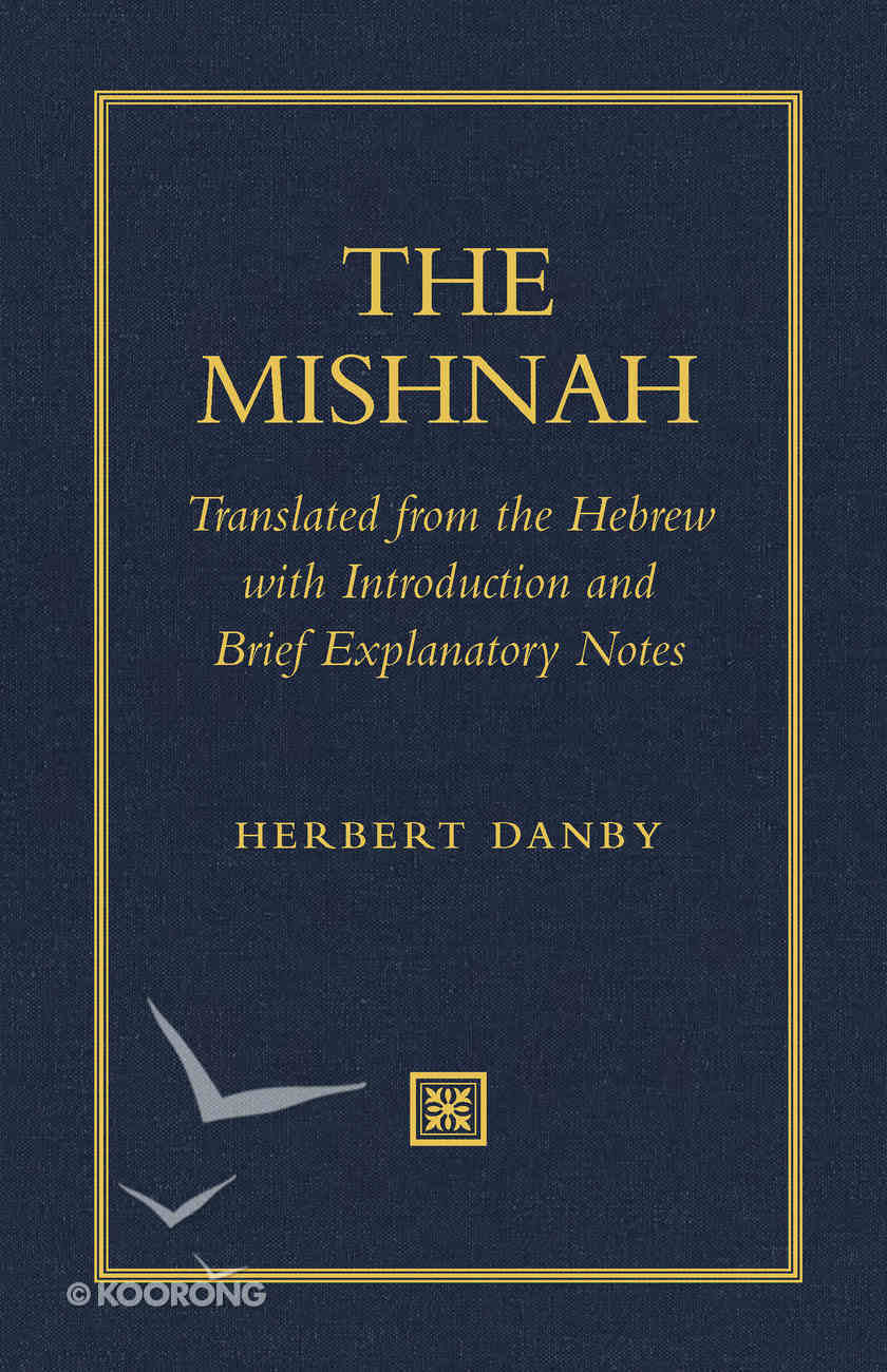 The Mishnah Paperback