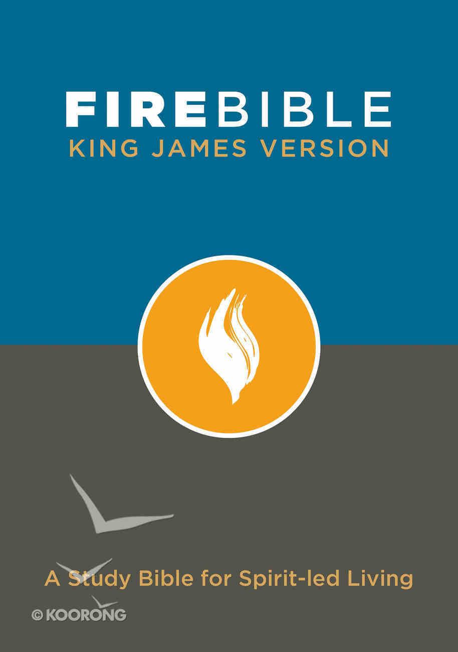 KJV Fire Bible Hardback