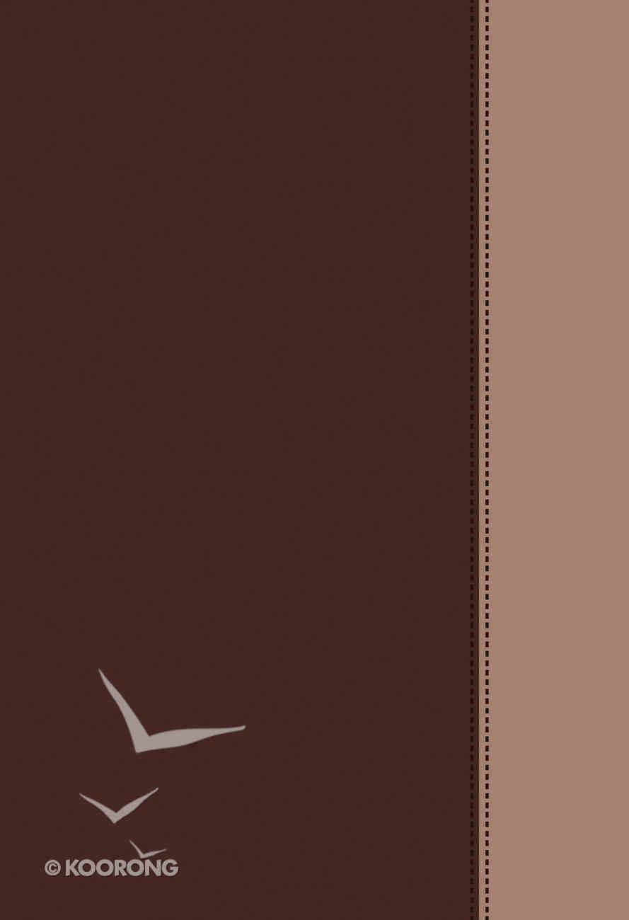 Kjv/Nkjv/Niv/Nlt Complete Evangelical Parallel Brown/Tan Flexi Back