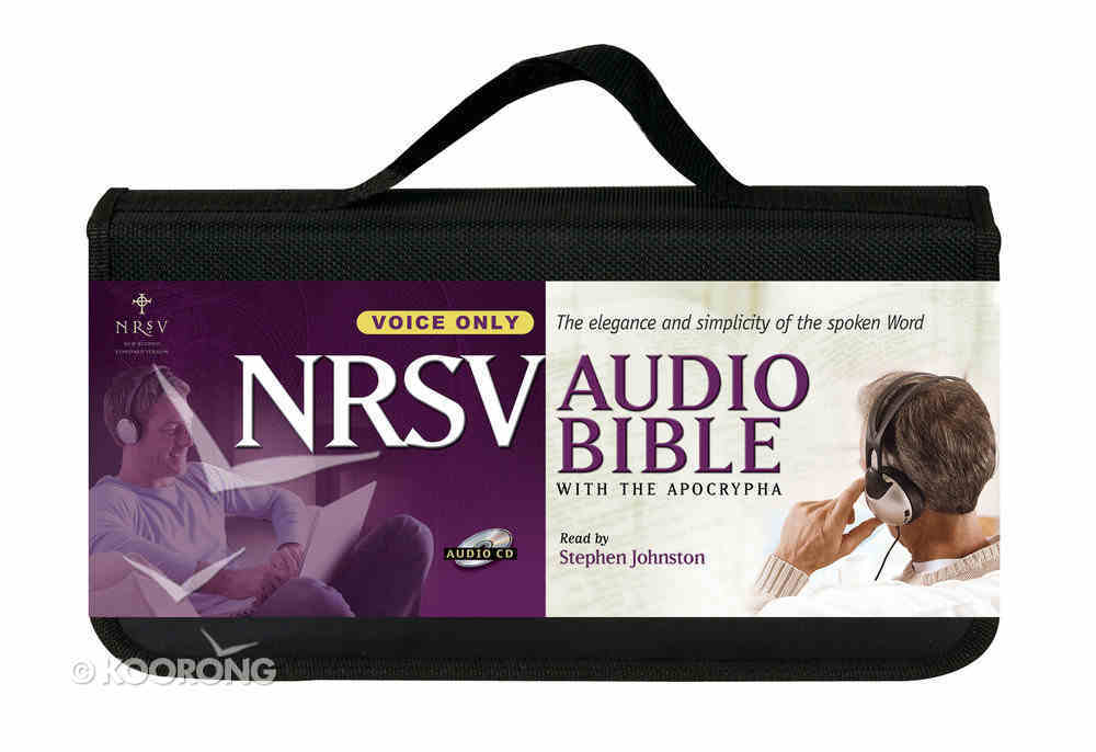 NRSV Audio Bible With Apocrypha Voice Only Cd-Rom CD
