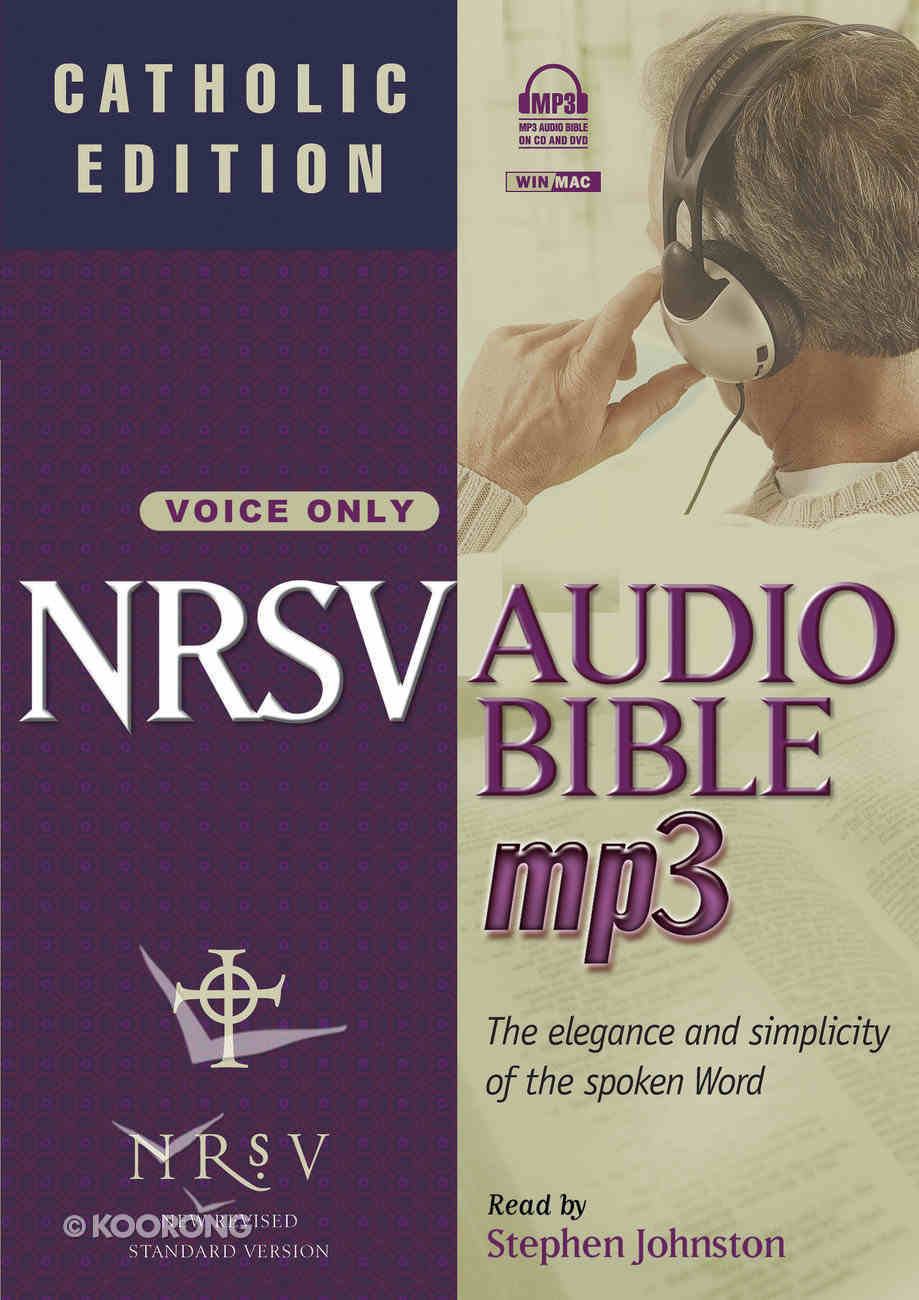 NRSV Audio Bible MP3 (Catholic Edition) (With Apocrypha) CD