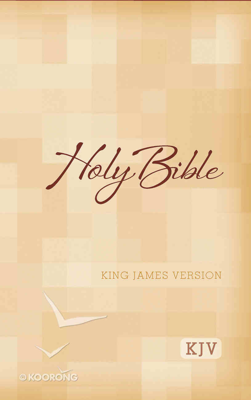 KJV Large Print Bible (Red Letter Edition) Paperback