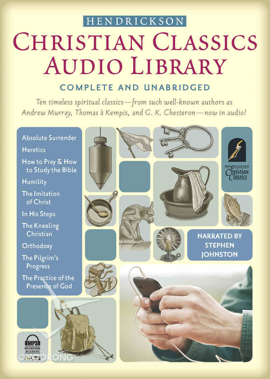 Hendrickson Christian Classics Audio Library (Mp3) Dvd-rom