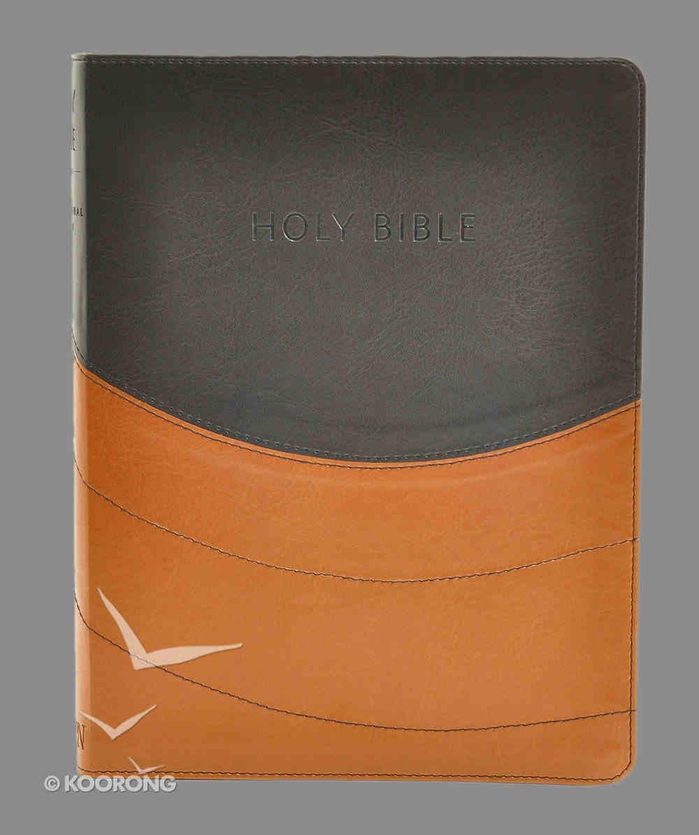 NIV Ministry Essentials Bible Black/Brown Imitation Leather