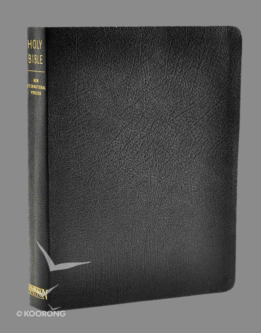 NIV Ministry Essentials Bible Black Genuine Leather