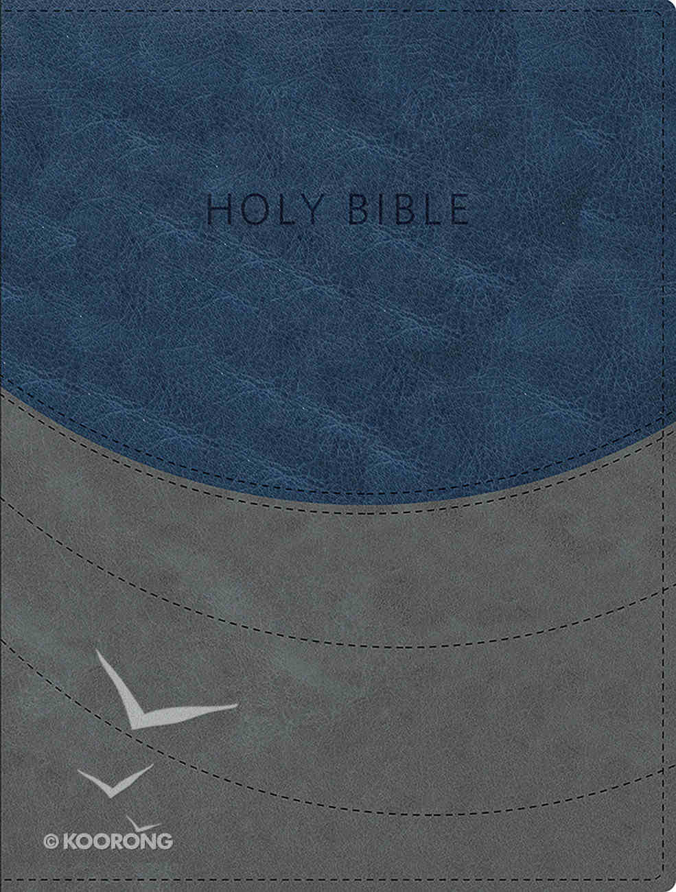 KJV Ministry Essentials Bible Blue/Gray Imitation Leather