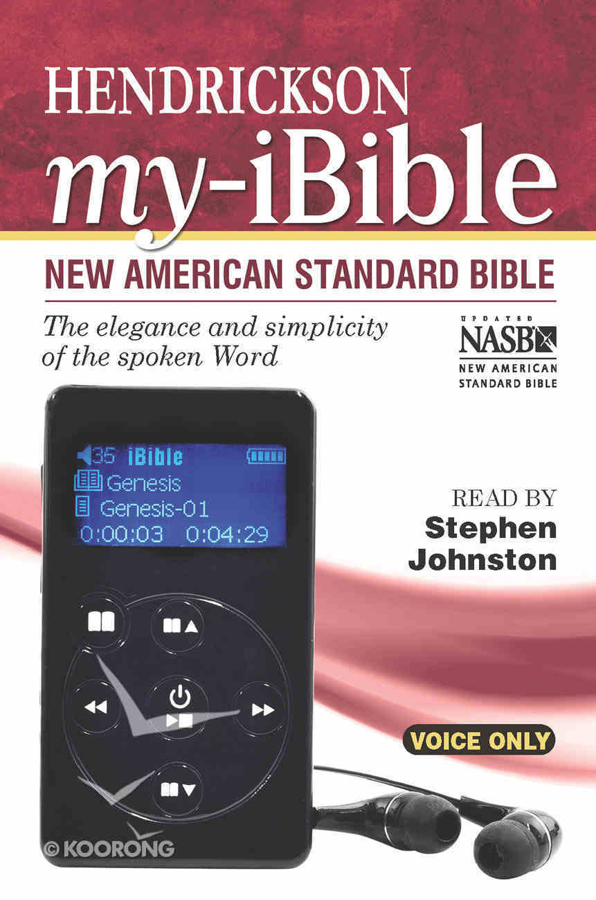 NASB My Ibible (Read By Stephen Johnston) Audio Other