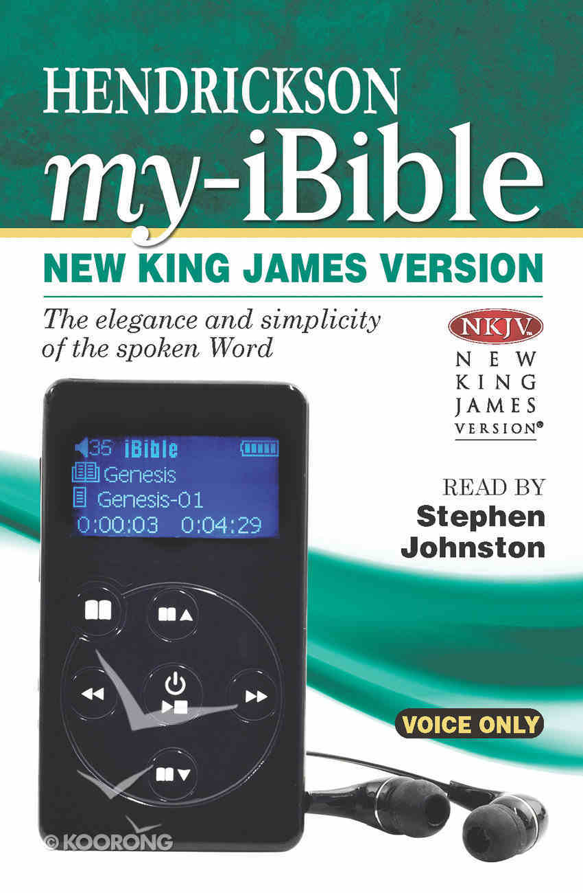 NKJV My Ibible (Read By Stephen Johnston) Audio Other