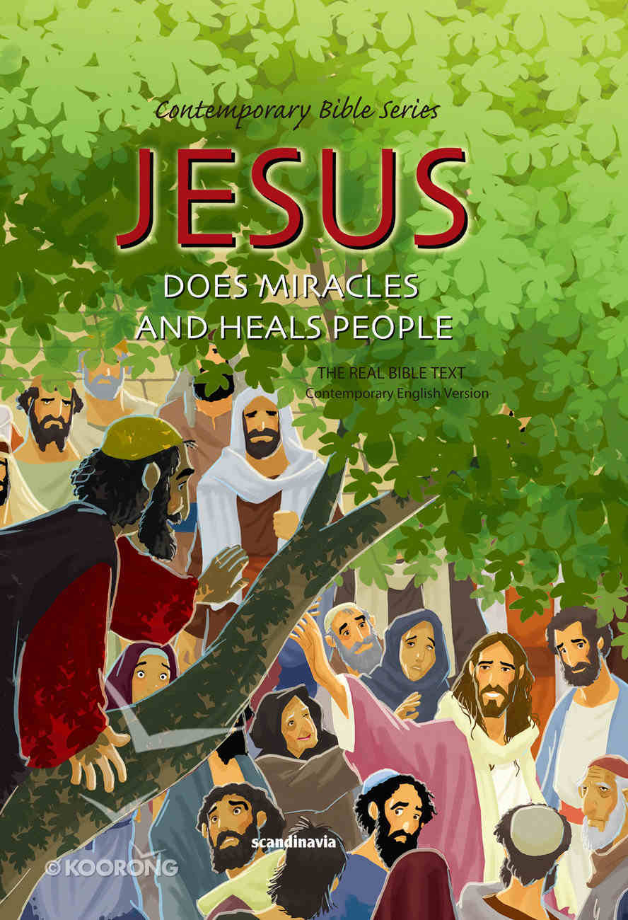 Contemporary Bible #10: Jesus Makes Miracles and Heals People (CEV) (#10 in Contemporary Bible Series (12 Vols)) Hardback