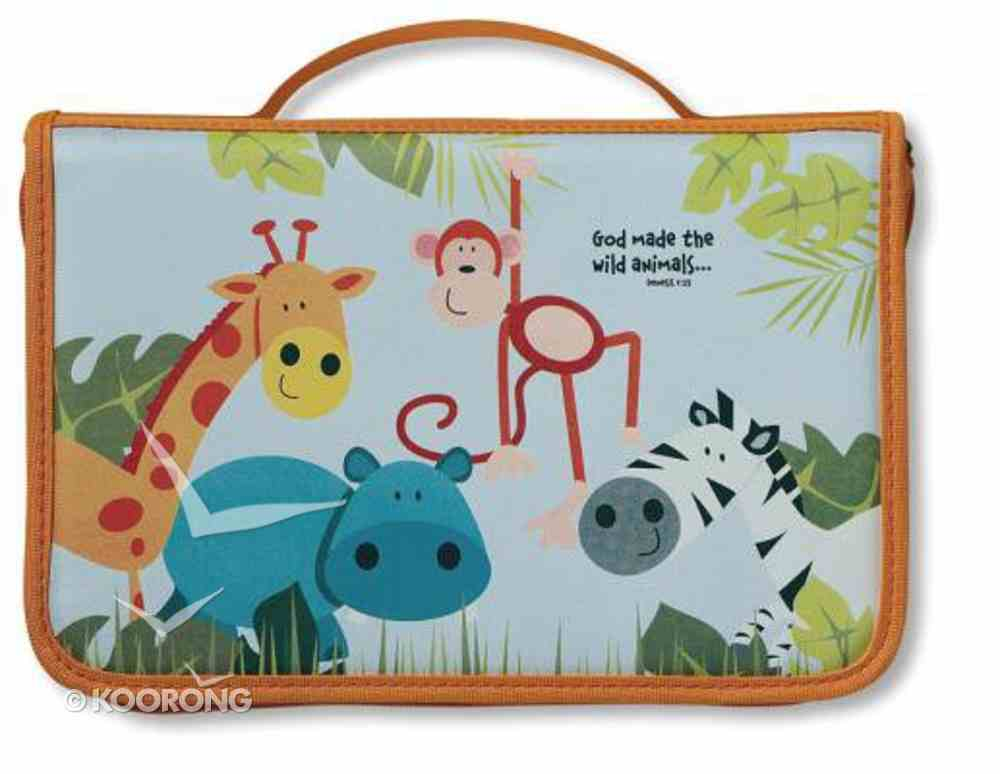 Bible Cover God's Animal Friends Medium Bible Cover