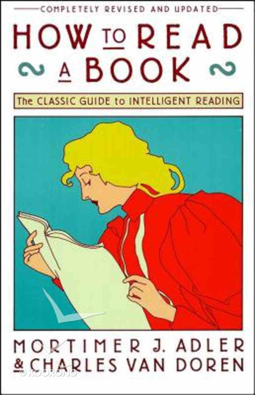 How to Read a Book Paperback